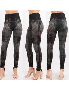 High Waist Print Leggings