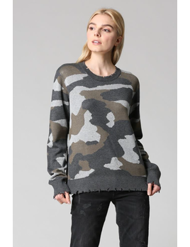 Camouflage Hoodie Sweater