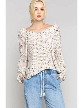 Confetti Hoodie Sweater