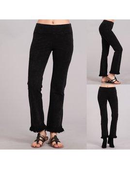 Frayed Hem Pants