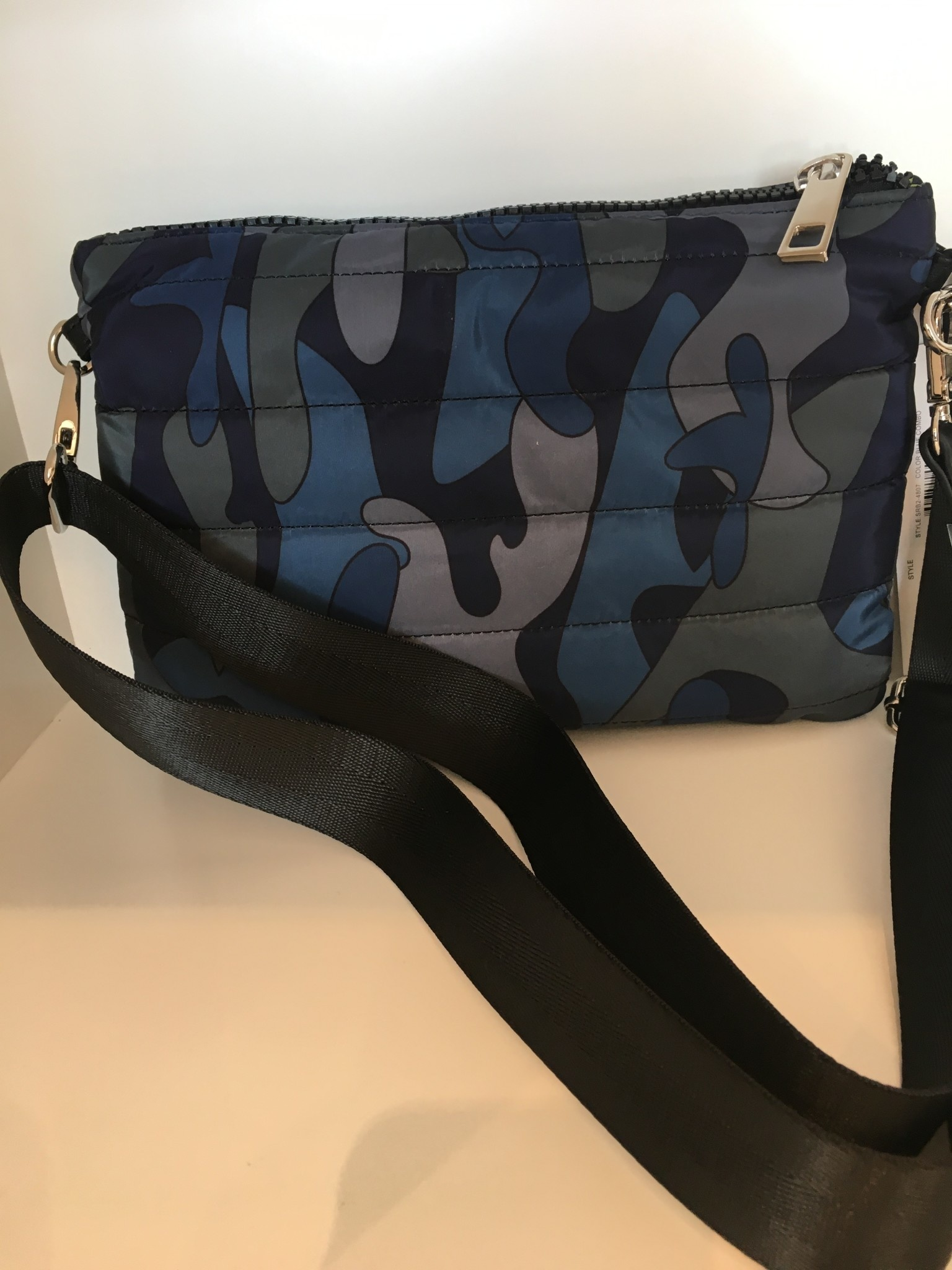 Nylon Crossbody Bag W/E