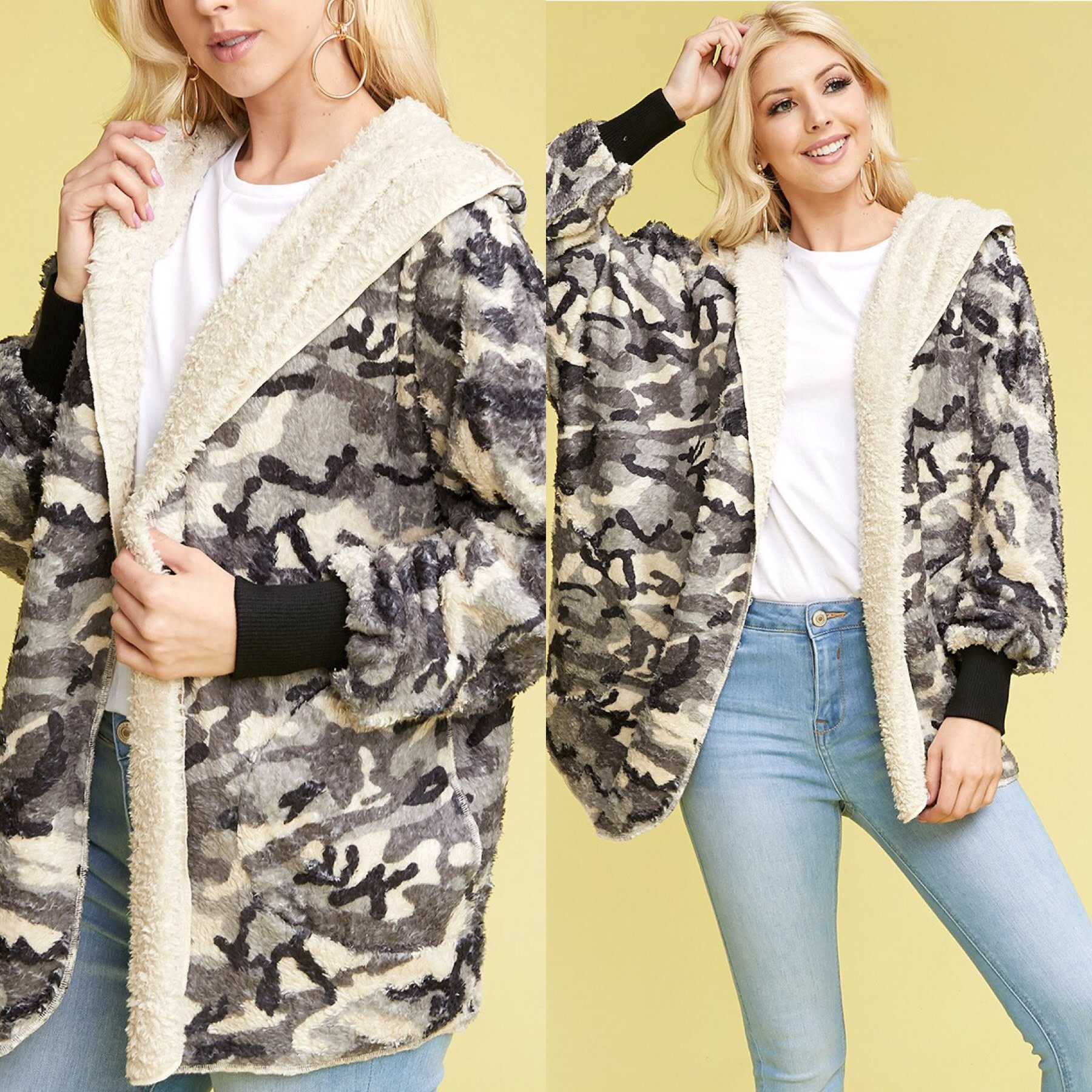 Camoulfage Bear Jacket