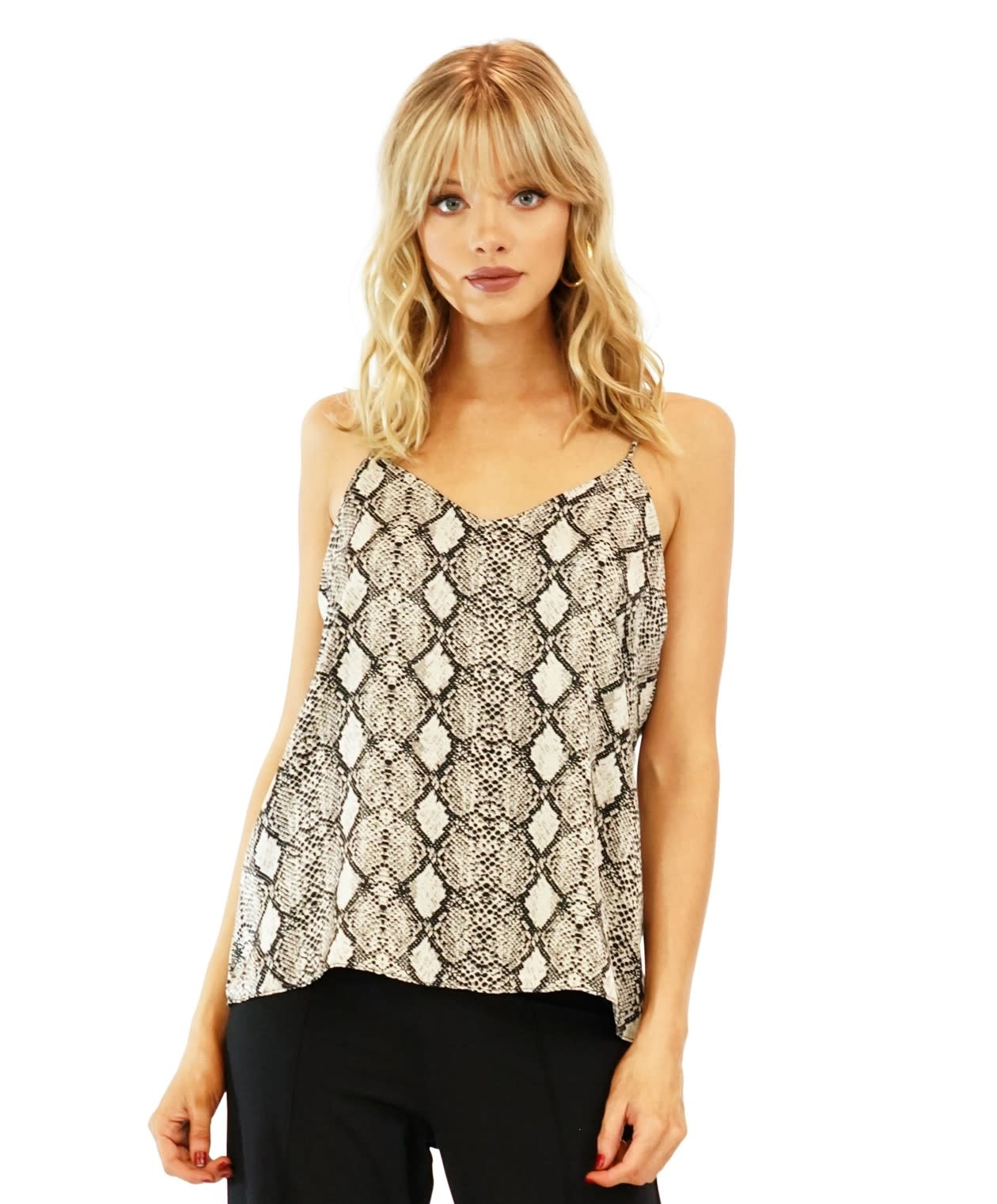 Print Lined Cami