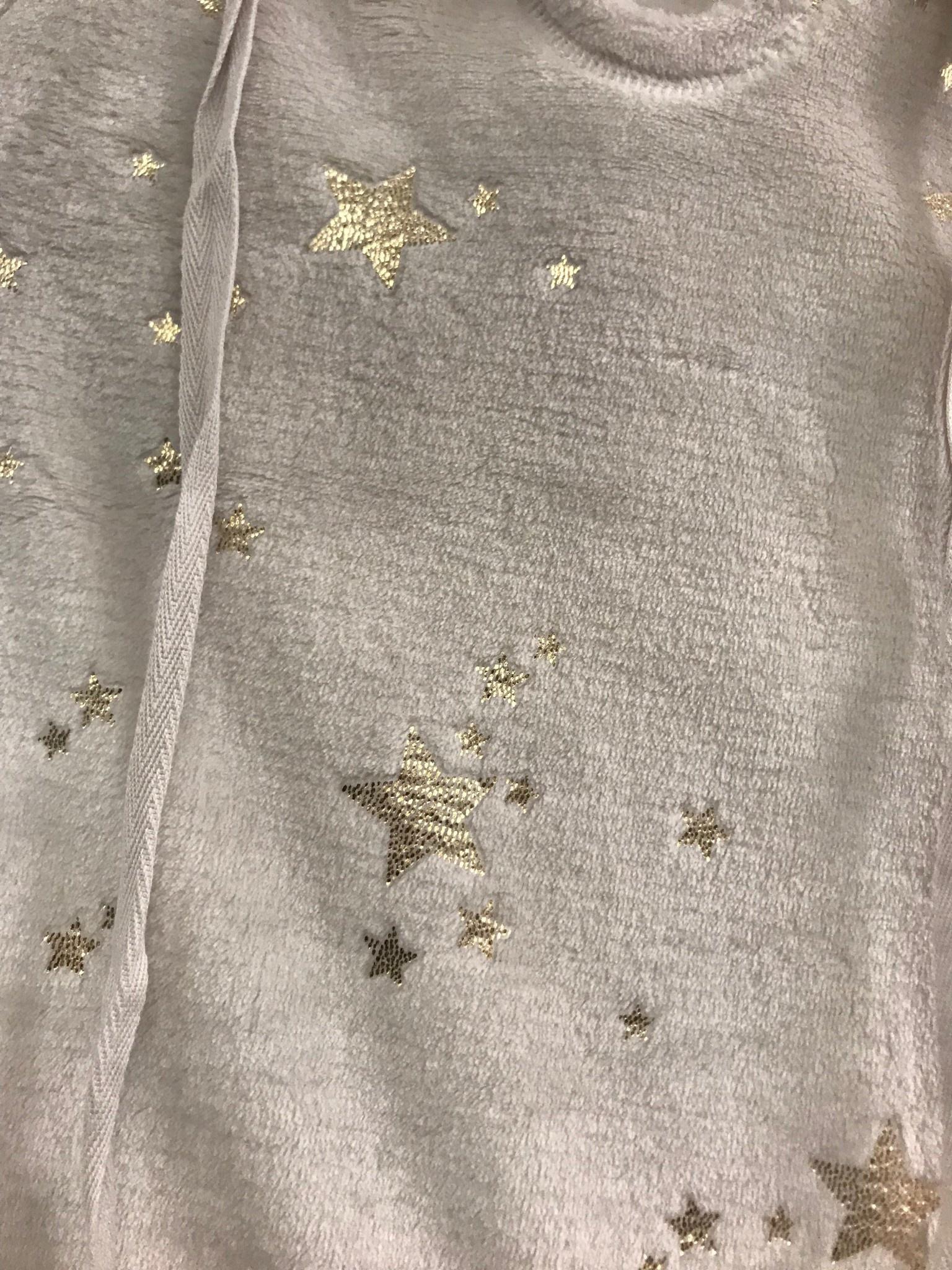 Star Plush Pullover