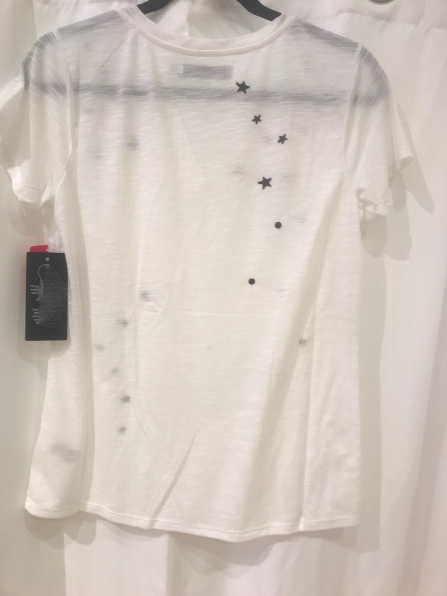Star Embroidered Tee Shirt