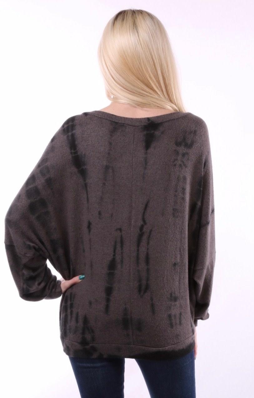 Soft Tie Dye Sweatshirt