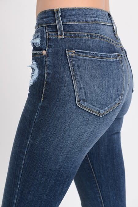 Slightly Distressed Jeans