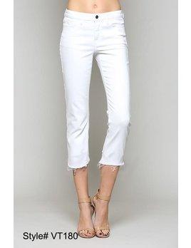 Mid Rise Slim Cut Jeans