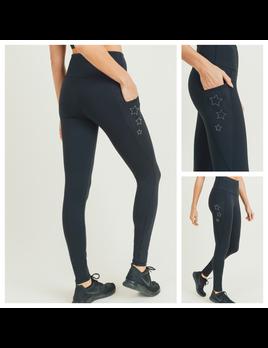 Pocket & Star Legging