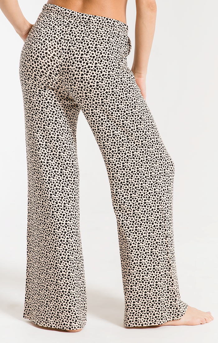 Mini Heart Wideleg Pant