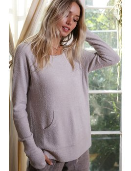 Super Soft Thumb Hole Top with Pockets