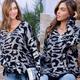 Leopard Metallic Sweater