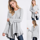 Bell Sleeve French Terry Tunic