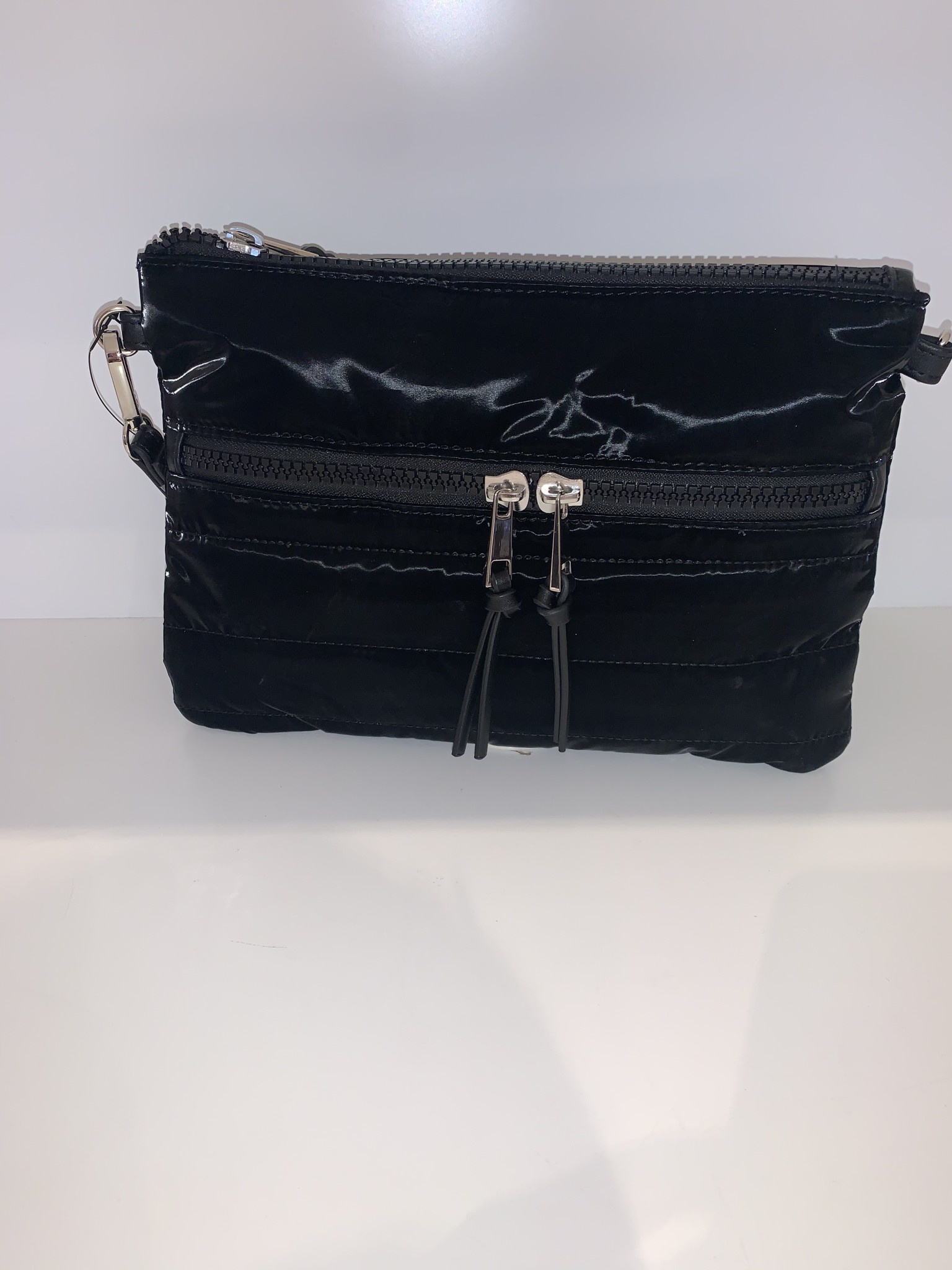 Nylon Cross Body Bag- EAST WEST ( Landscape)
