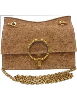 Cross Body Cork Bag