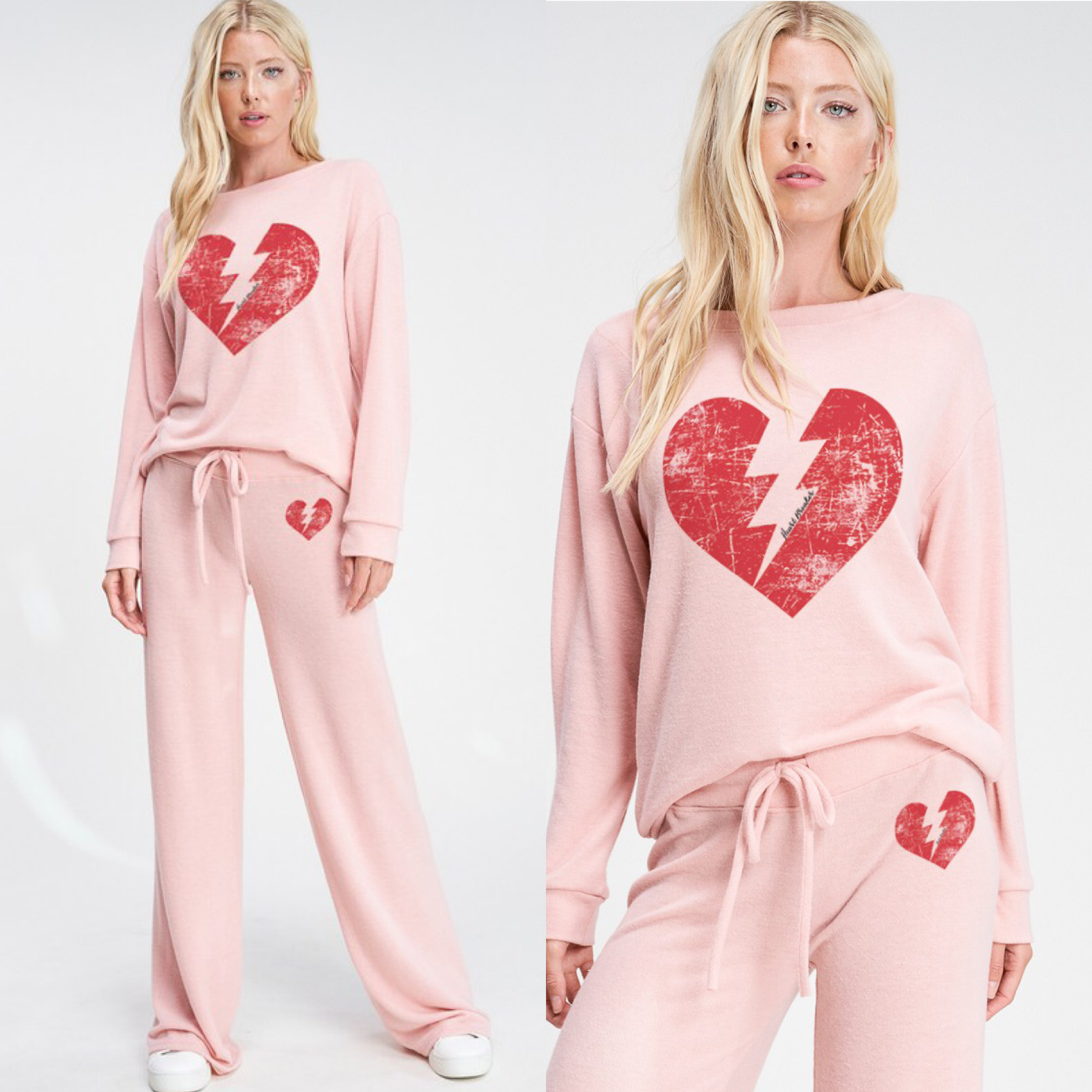 Lightning Heart Lounge Set