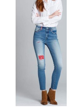Bandana Patch Jeans