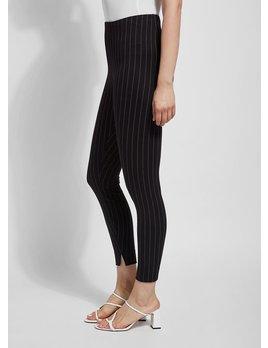 Stripe Slit fronyt Ankle Pant