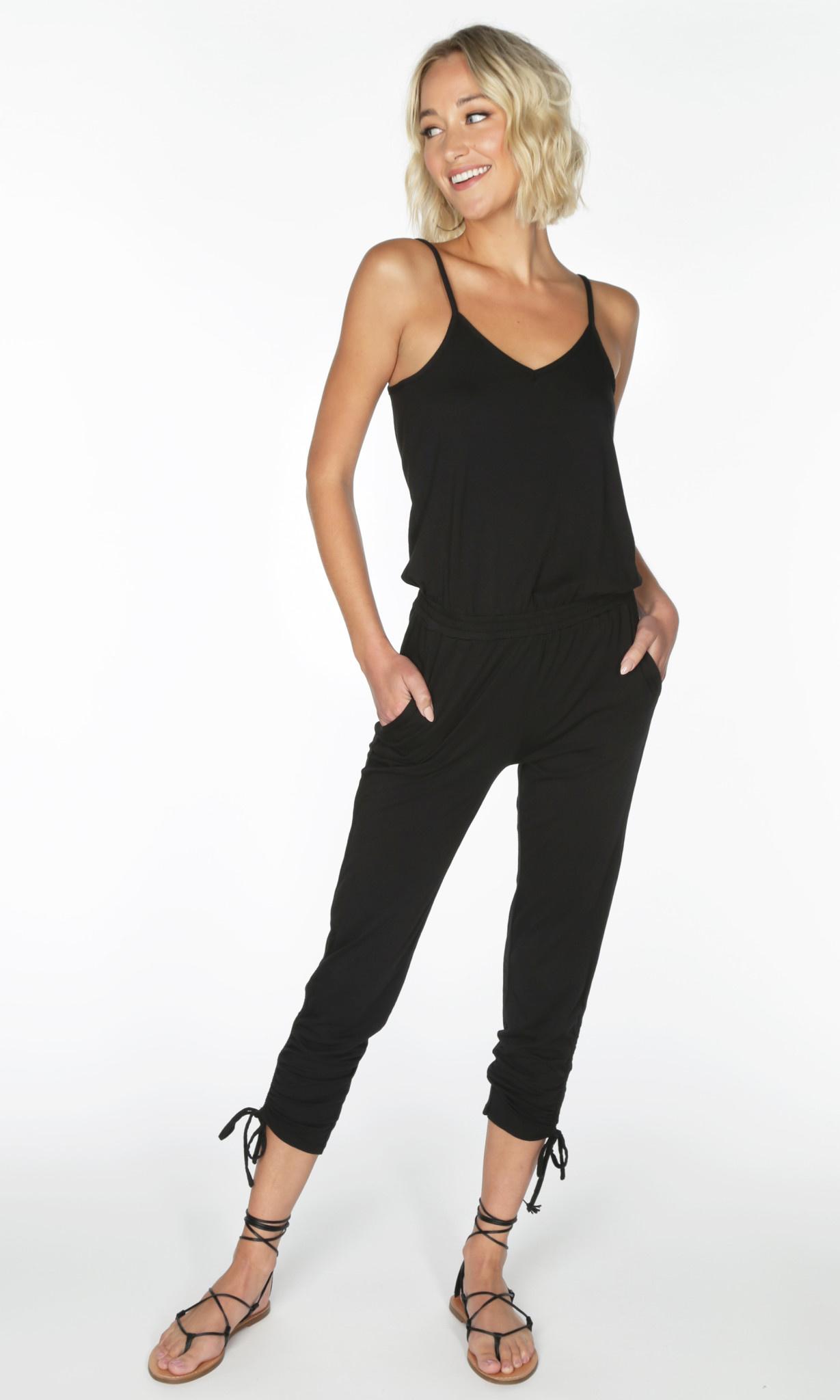 Cami Shirred Leg jumpsuit