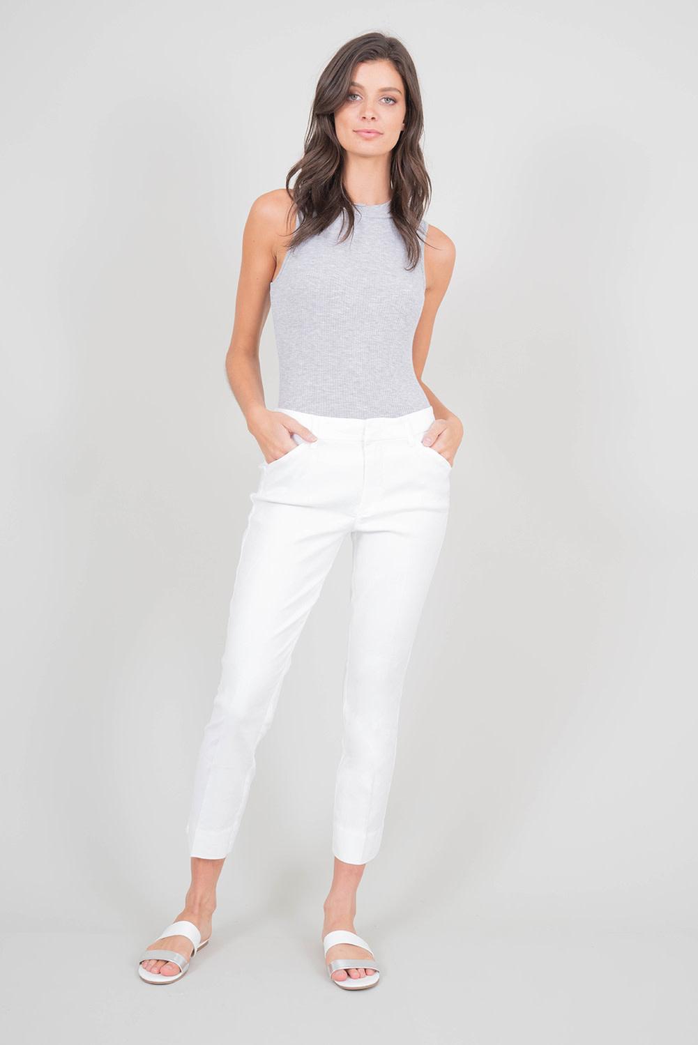 Linen Slim Trouser