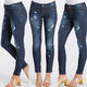 Star & Moon Skinny Jeans