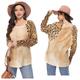 Cheetah Print Waffle Top