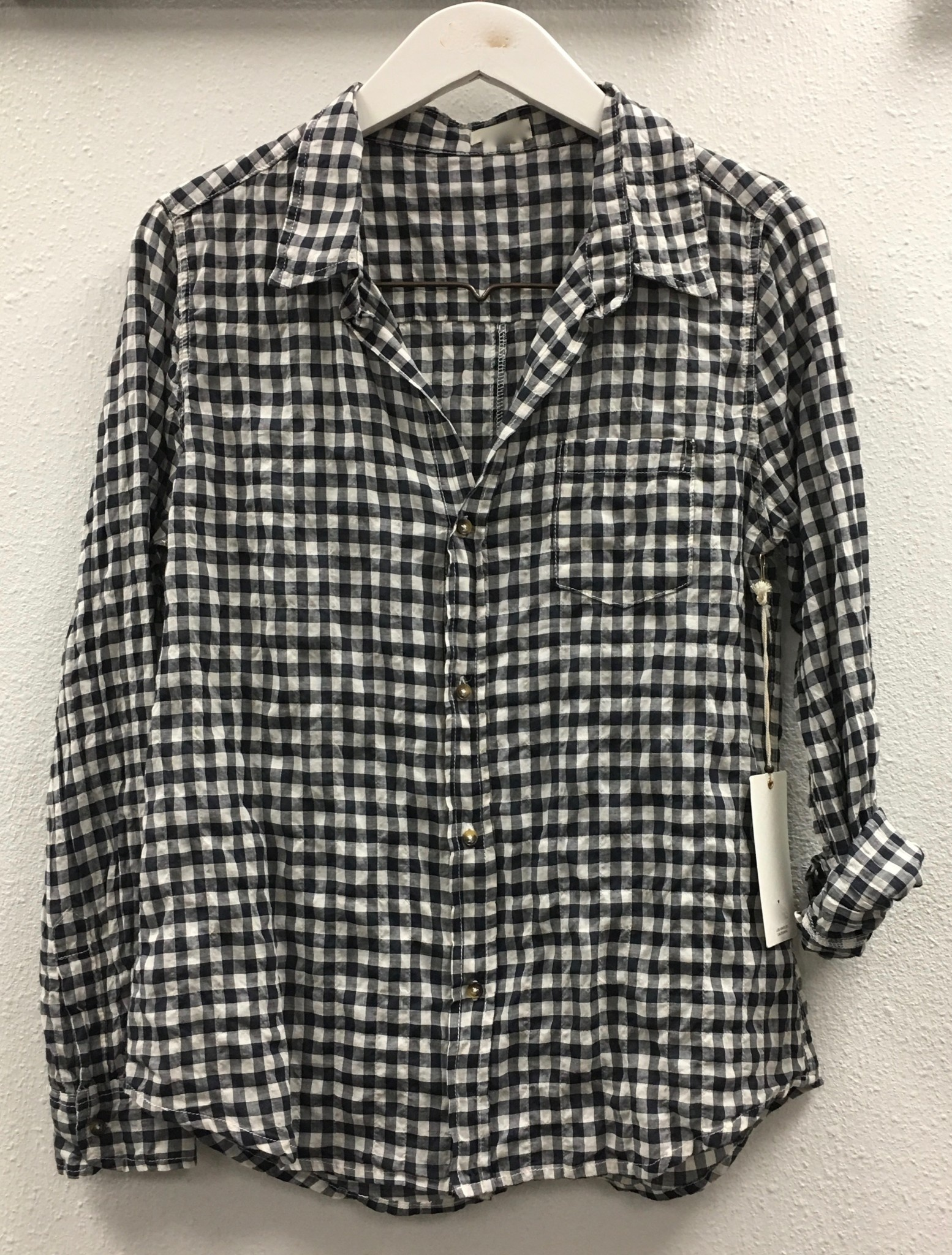 Gingham Boy Shirt