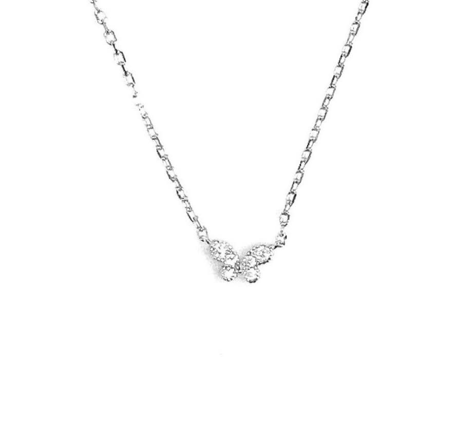 Sterling Silver Cubic Zurcoina Butterfly