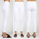 Heather Crop High Rise Jeans