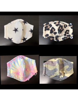 Print Cotton Masks with Filter Slot