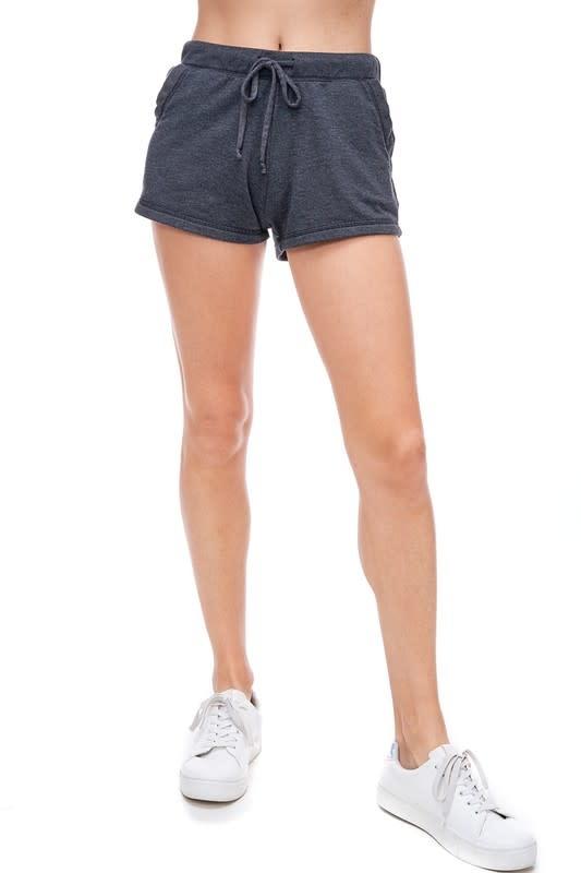Dyed Fleece Shorts