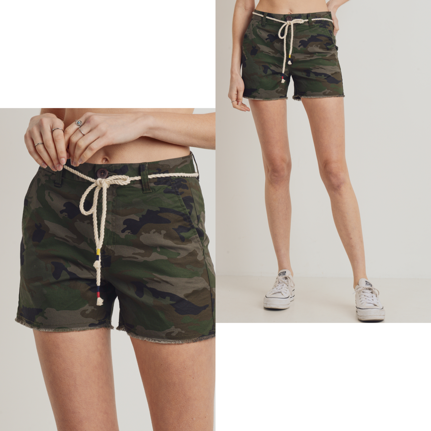 Trouser Camouflage Shorts