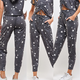 French Terry Star Print Sweatpants