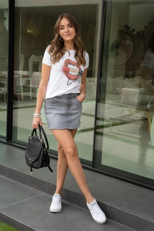 Love Lipstick Tee Shirt