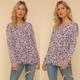 Leopard Distressed Hem Sweater