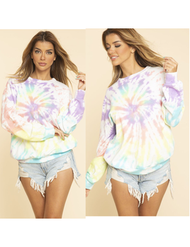 French Terry Spiral Sweatshirt