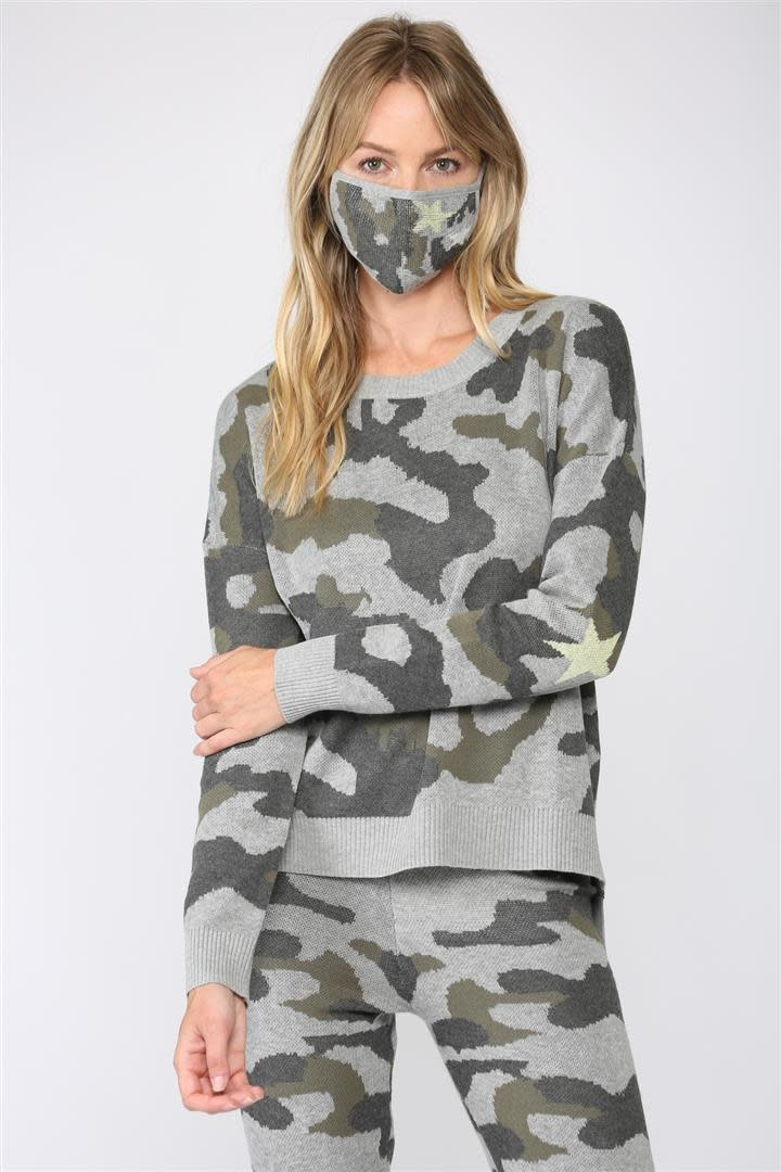 Camouflage Knit Jogger