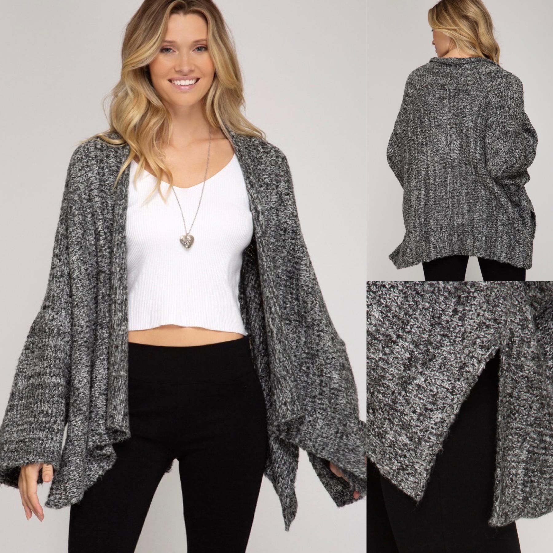Open Sweater Cardigan