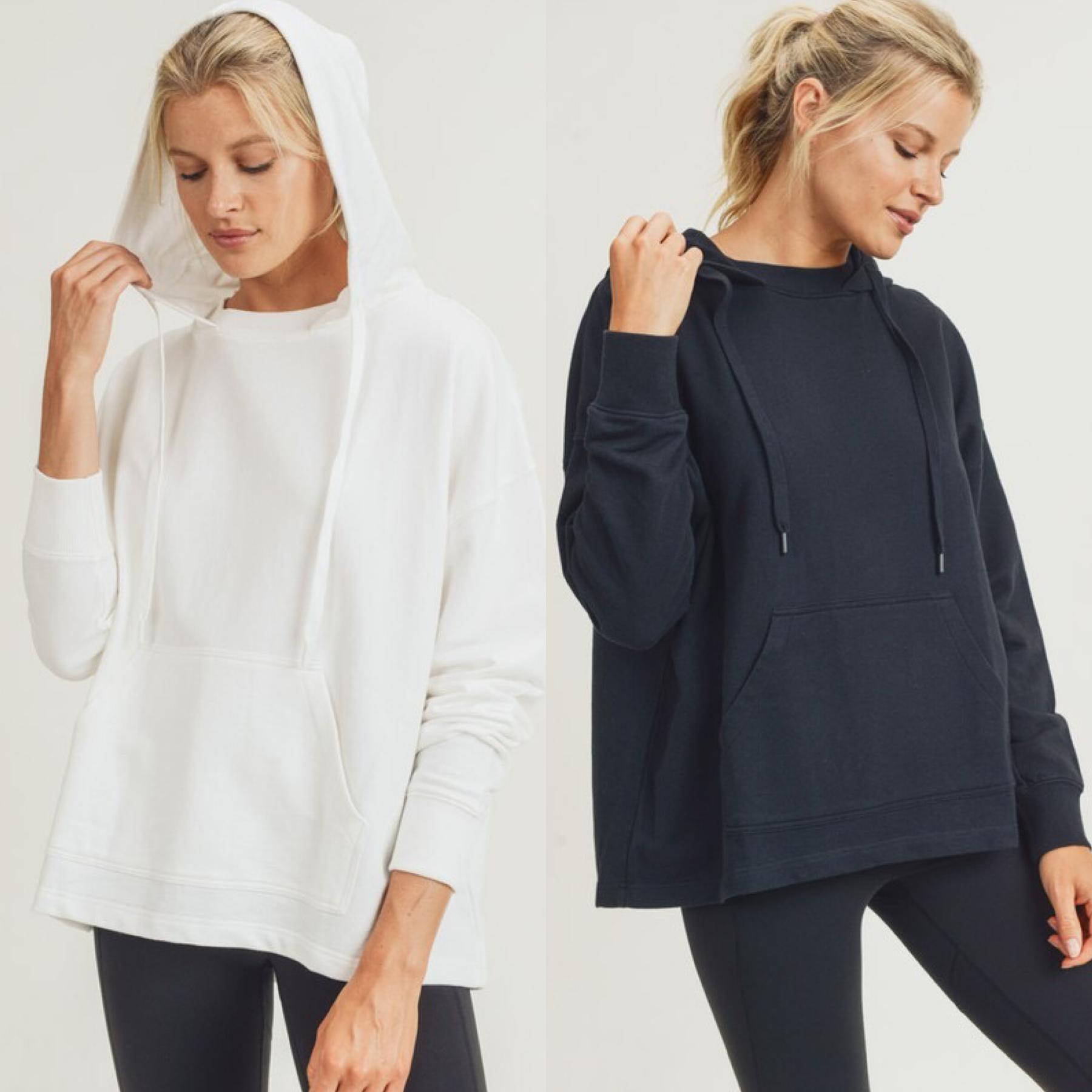 Boxy Pullover Sweatshirt