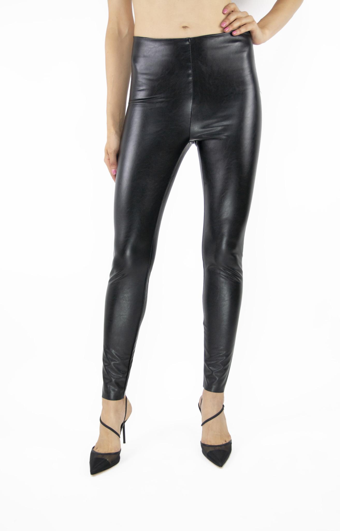 Pullon Faux Leather High Rise Leggings