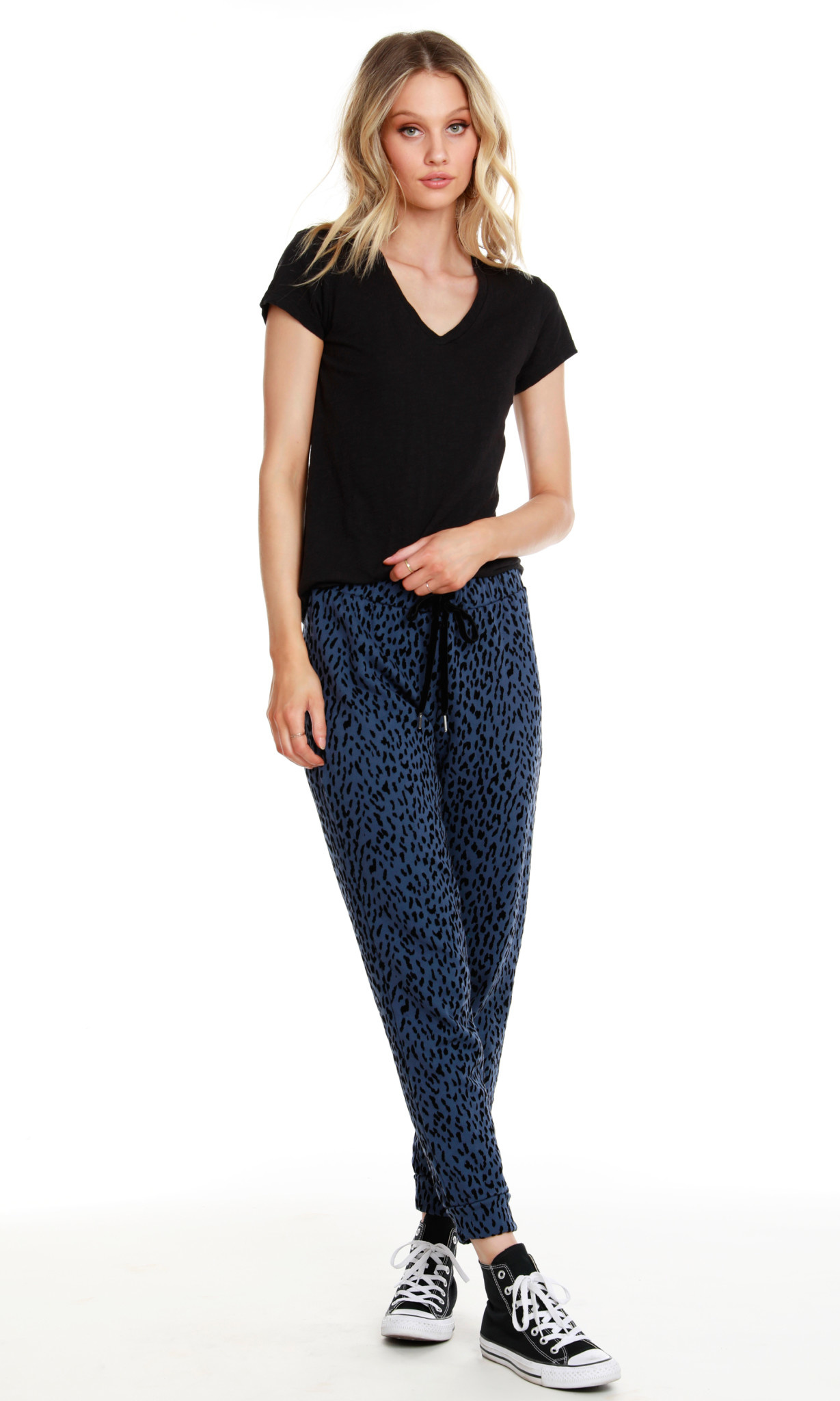 Leopard Terry Jogger Pant