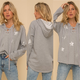 Silver Star French Terry Hoodie