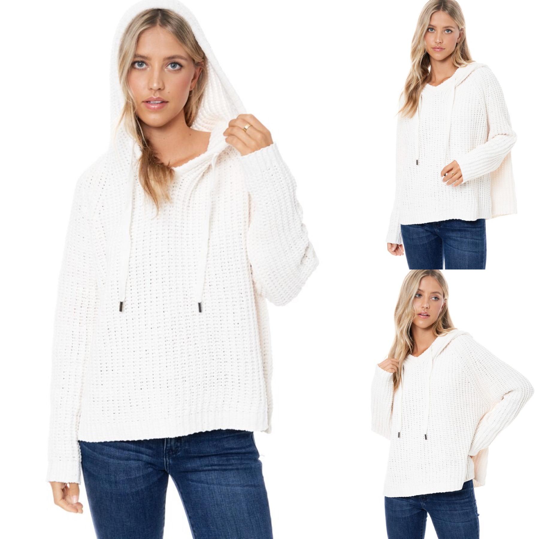Soft & Fuzzy Hoodie Sweater