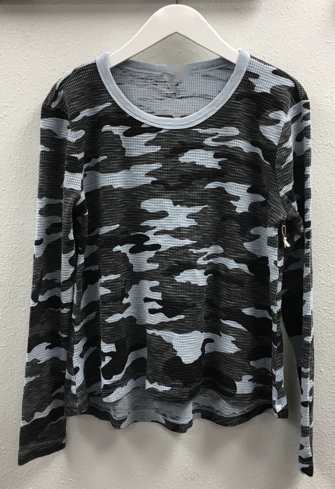 Camouflage Waffle Top
