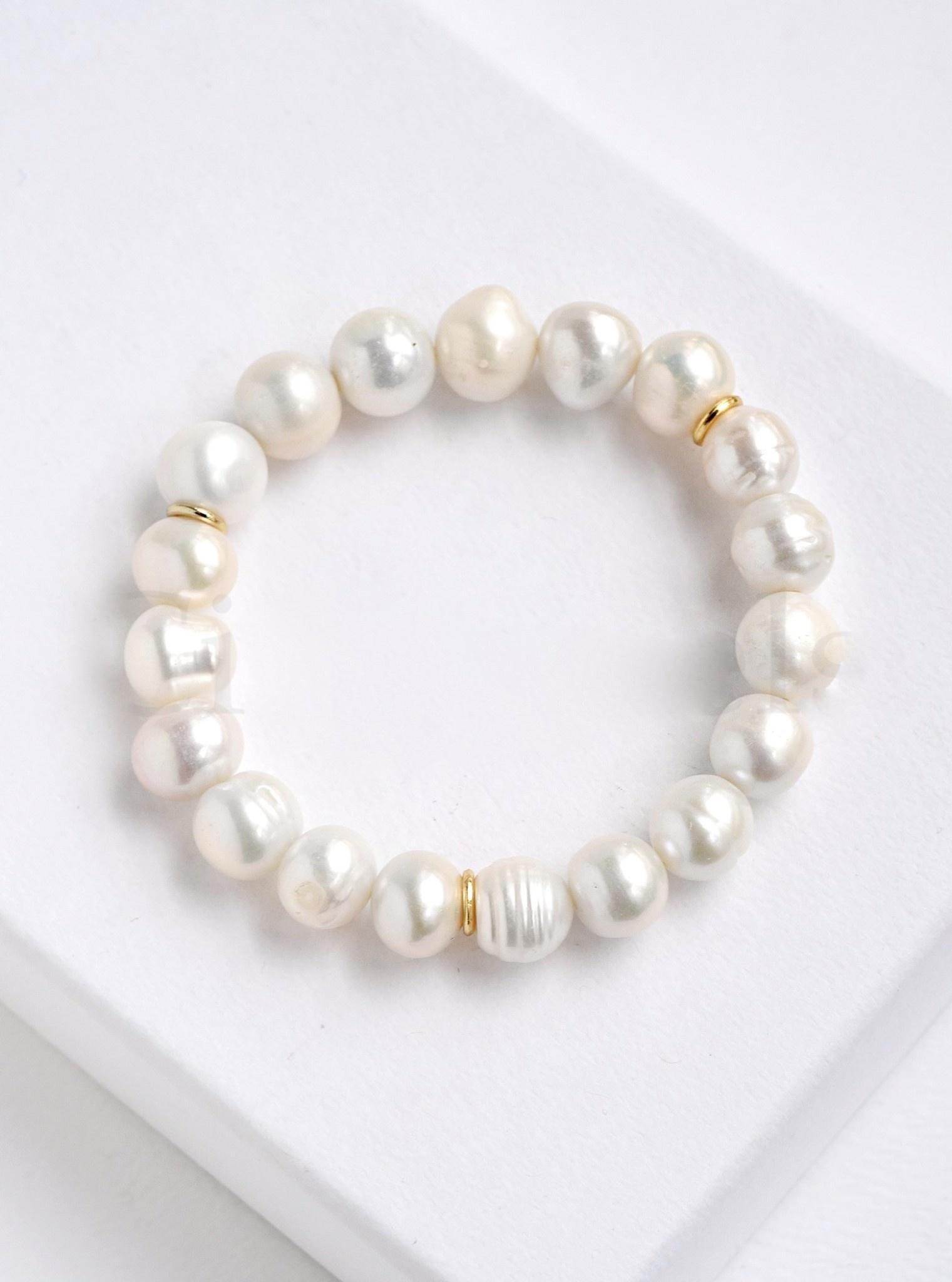 Stretchable Pearl Bracelet