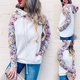 Quilted Floral Detail Top