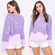 Bleach & Dyed Sweatshirt
