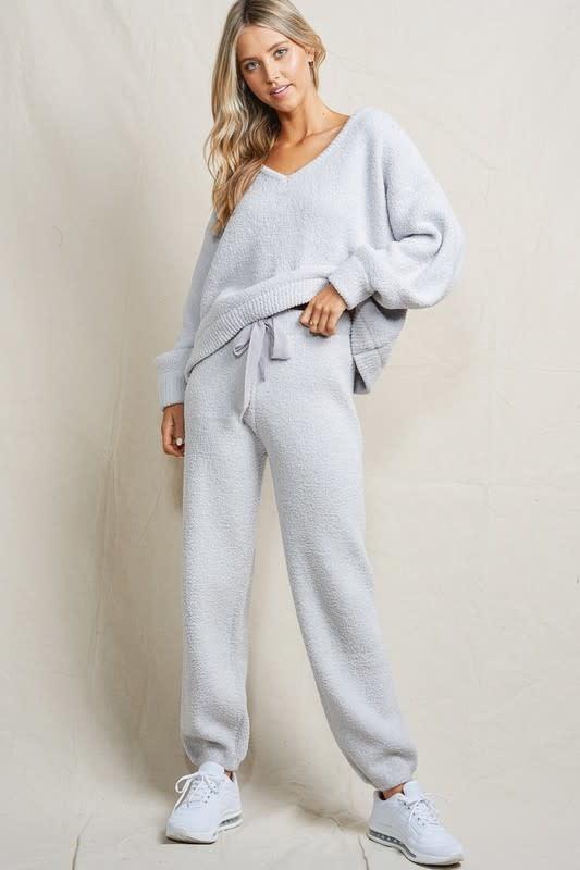 Fuzzy Pullon Pants