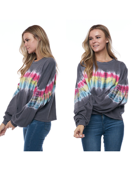Rainbow French Terry L/S Top