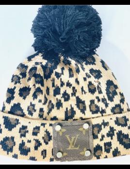 Leopard LV Beanie